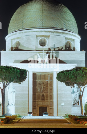 Saints Peter and Paul in EUR, Rome - Stock Photo