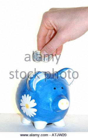 Piggy bank / Sparschwein - Stock Photo