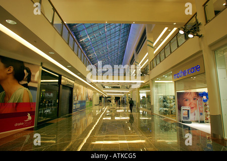 Inside the new Drakes Circus shopping centre in Plymouth, Devon UK - Stock Photo