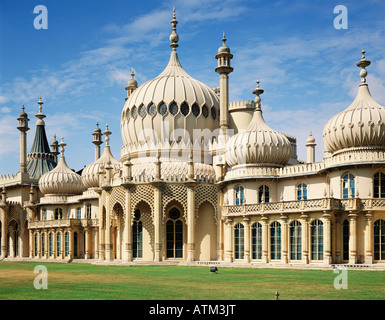 GB EAST SUSSEX BRIGHTON THE ROYAL PAVILION - Stock Photo