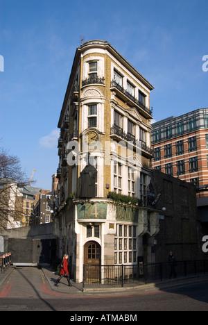 The Black Friar pub in Blackfriars London UK - Stock Photo