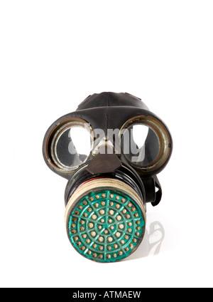 British Second World War Gas Mask - Stock Photo