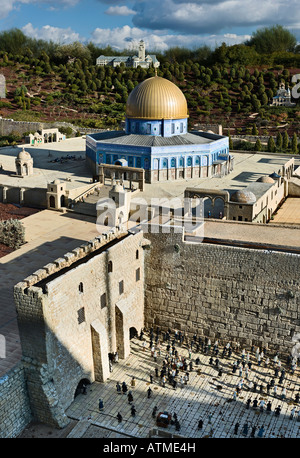 Temple Mount, Jerusalem, Israel - Stock Photo