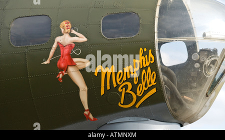 B-17 Flying Fortress Sally B - Stock Photo