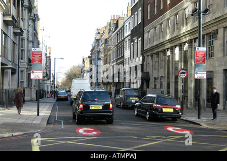 London Car Park Outside Congestion Charge