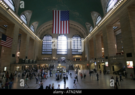 Grand Central Station in Manhattan,New York. - Stock Photo