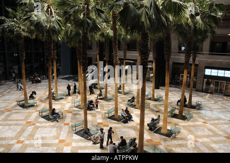 The Winter Garden Of The World Financial Center In Battery Park City,  Manhattan.