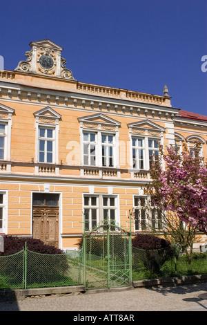 A building in Slavonice, Czech Republic - Stock Photo