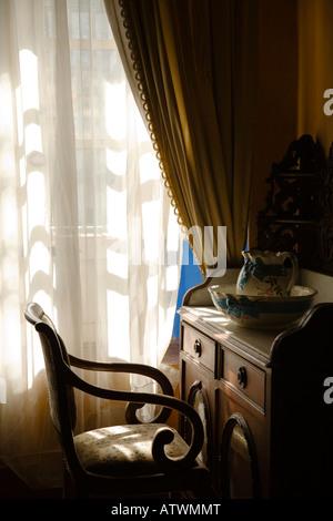 Mexico Guanajuato Colonial Home Interior Wealthy Silver