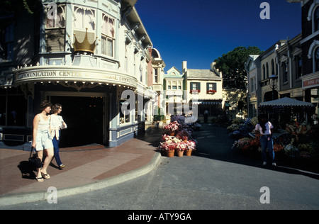Disneyland Park Anaheim California U S A - Stock Photo