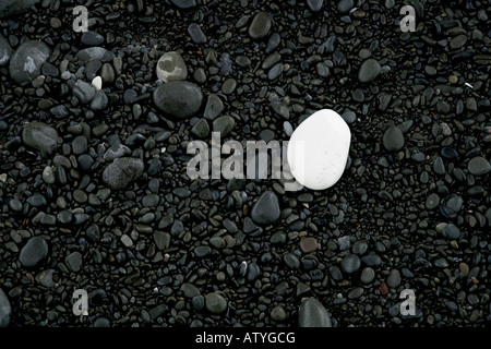 'Beach stones - Kaikoura Pebbles' - Stock Photo