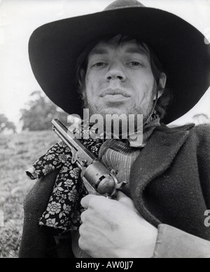 NED KELLY Mick Jagger in the title role of the 1970 UA film - Stock Photo