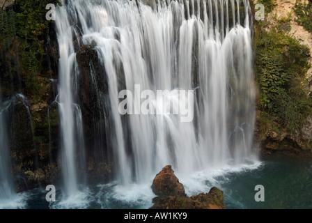 Jajce Waterfall on the River Pliva Jajce Bosnia Herzegovina Eastern Europe - Stock Photo