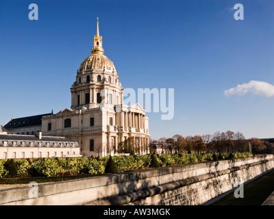 Les Invalides, Hotel des Invalides, Paris France Europe - Stock Photo
