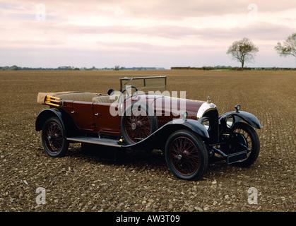 1924 Bentley 3.0 litre open tourer - Stock Photo