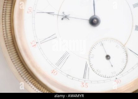 Close-up of a pocket watch - Stock Photo