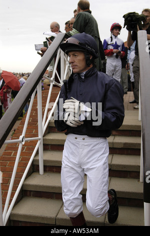 Jockey Kieron Fallon - Stock Photo