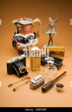 A collection of antiques - Stock Photo