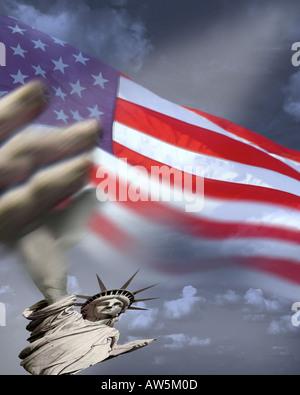 USA - NEW YORK:  Statue of Liberty - Stock Photo