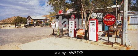 Hackberry General Store along Route 66 in Arizona - Stock Photo