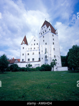 new castle Ingolstadt, Bavaria, Germany, Europe. Photo by Willy Matheisl - Stock Photo