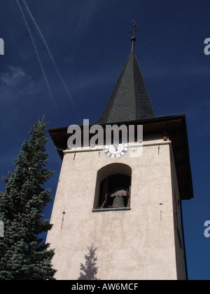 AJD47024, Switzerland, Europe, valais, wallis, Val d'Anniviers, St. Luc - Stock Photo