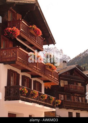 AJD47025, Switzerland, Europe, valais, wallis, Val d'Anniviers, St. Luc - Stock Photo