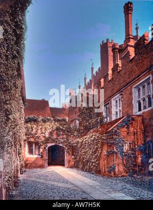 Hampton Court Palace London England - Stock Photo