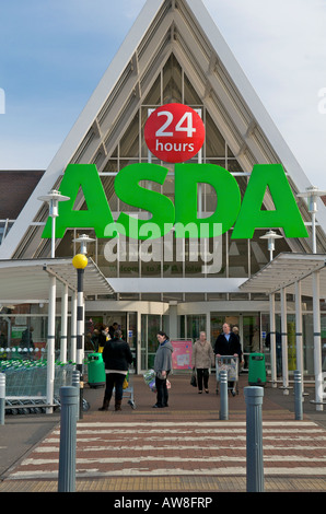 Asda wal mart supermarket in sheffield england stock photo - Asda stores ltd head office ...
