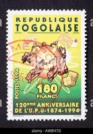 Togolese postage stamp - Stock Photo