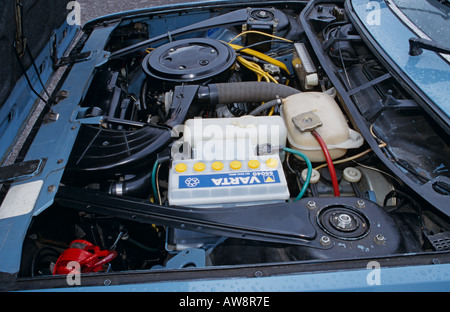 Lancia Beta HPE 2 litre of 1982 1995cc. Beta HPE 1974 to 1984 - Stock Photo