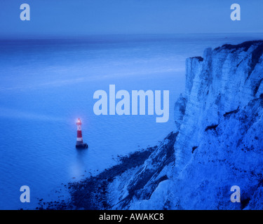GB - EAST SUSSEX: Beachy Head Lighthouse - Stock Photo