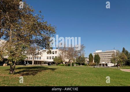 Israel Jerusalem The Hebrew University Edmond Safra campus in Givat Ram - Stock Photo