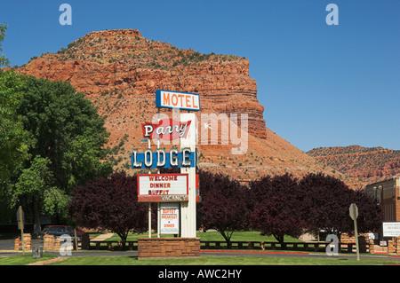 Kanab, South-Western Utah, USA - Stock Photo