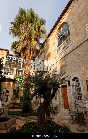 Israel Jerusalem Eest Jerusalem the American Colony hotel - Stock Photo