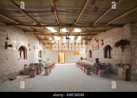 Salt hotel Marith en Atulcha, Altiplano, Bolivia, South America - Stock Photo