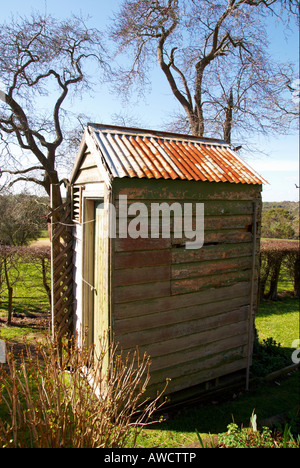 An old Australian Dunny. - Stock Photo