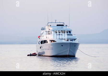 Tourist boat for dive excursions, Red Sea, Egypt - Stock Photo