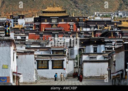 Palcho Monastery or Pelkor chode or Shekar, Gyantse, Tibet - Stock Photo