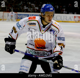 Christian WICHERT, icehockey player Augsburger Panther - Stock Photo