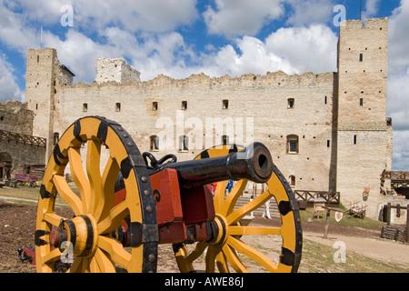 Castle in Rakvere, Estonia, Europe - Stock Photo