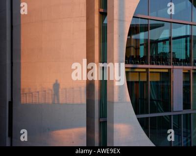Marie Elisabeth Lüders Building, Berlin, Germany - Stock Photo