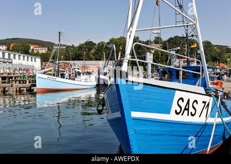 Sassnitz Harbour, Ruegen, Germany, Europe