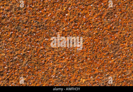 Rough-textured rust surface - Stock Photo
