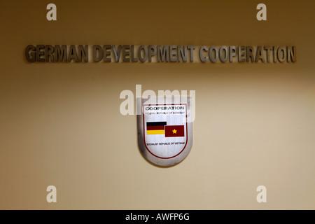Deutsche Gesellschaft fuer Technische Zusammenarbeit, GTZ (German Development Cooperation), Hanoi, Vietnam, Asia - Stock Photo