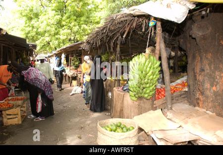 Malindi Markets - Stock Photo