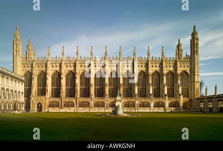 King's College Cambridge chapel - Stock Photo