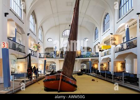 Museum der Deutschen Binnenschifffahrt (museum of the German inland navigation), Duisburg-Ruhrort, NRW, Germany