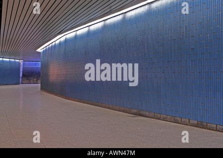 Subway station, Munich, Bavaria, Germany, Europe