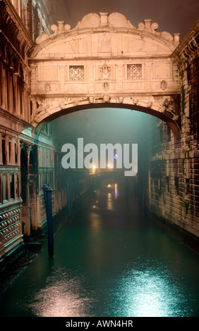 Bridge of sighs, Ponte dei Sospiri, Venice, Italy, Europe - Stock Photo